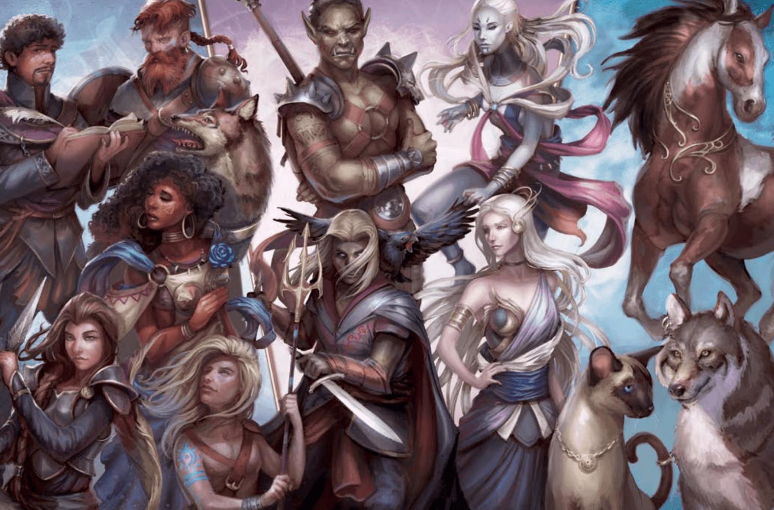 Romantic Fantasy Heroes